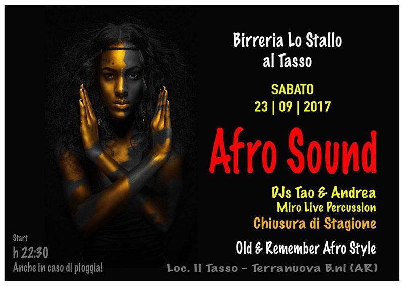 Serata Afro Sound